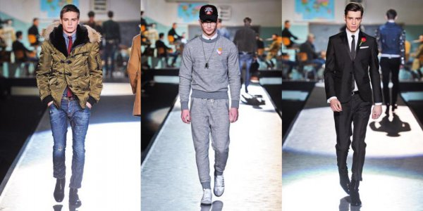 Модный мужской стиль осень-зима 2012-2013 от DSquared2 (32)