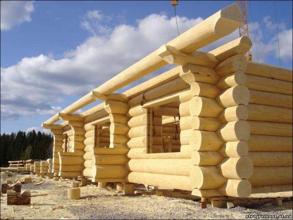 Во-вторых, стоит учесть, что строительство срубов домов из оцилиндрованного бревна не предполагает...