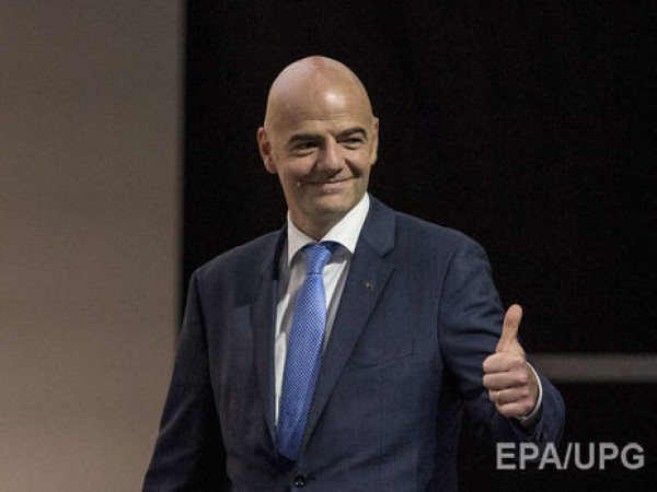 Инфантино Сегодня начинается новая эра ФИФА новая эра футбола