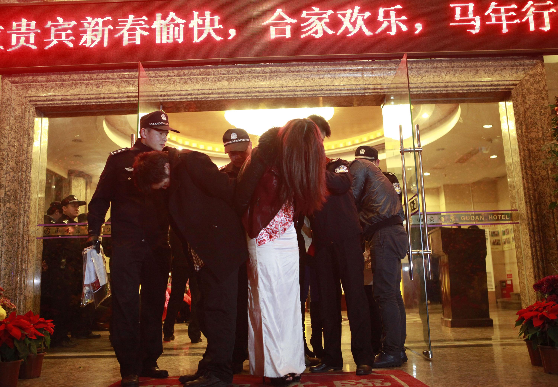 китайский публичный секс видео