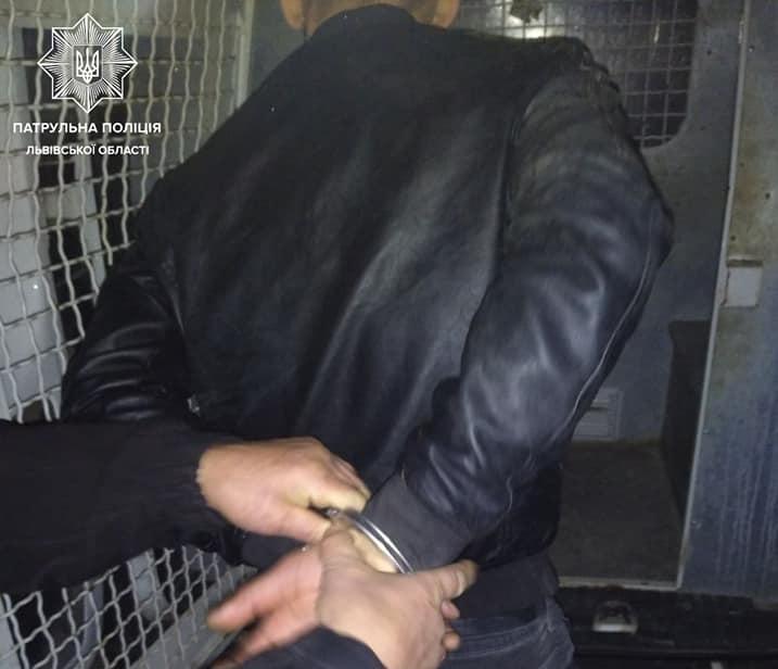 Фото задержанного
