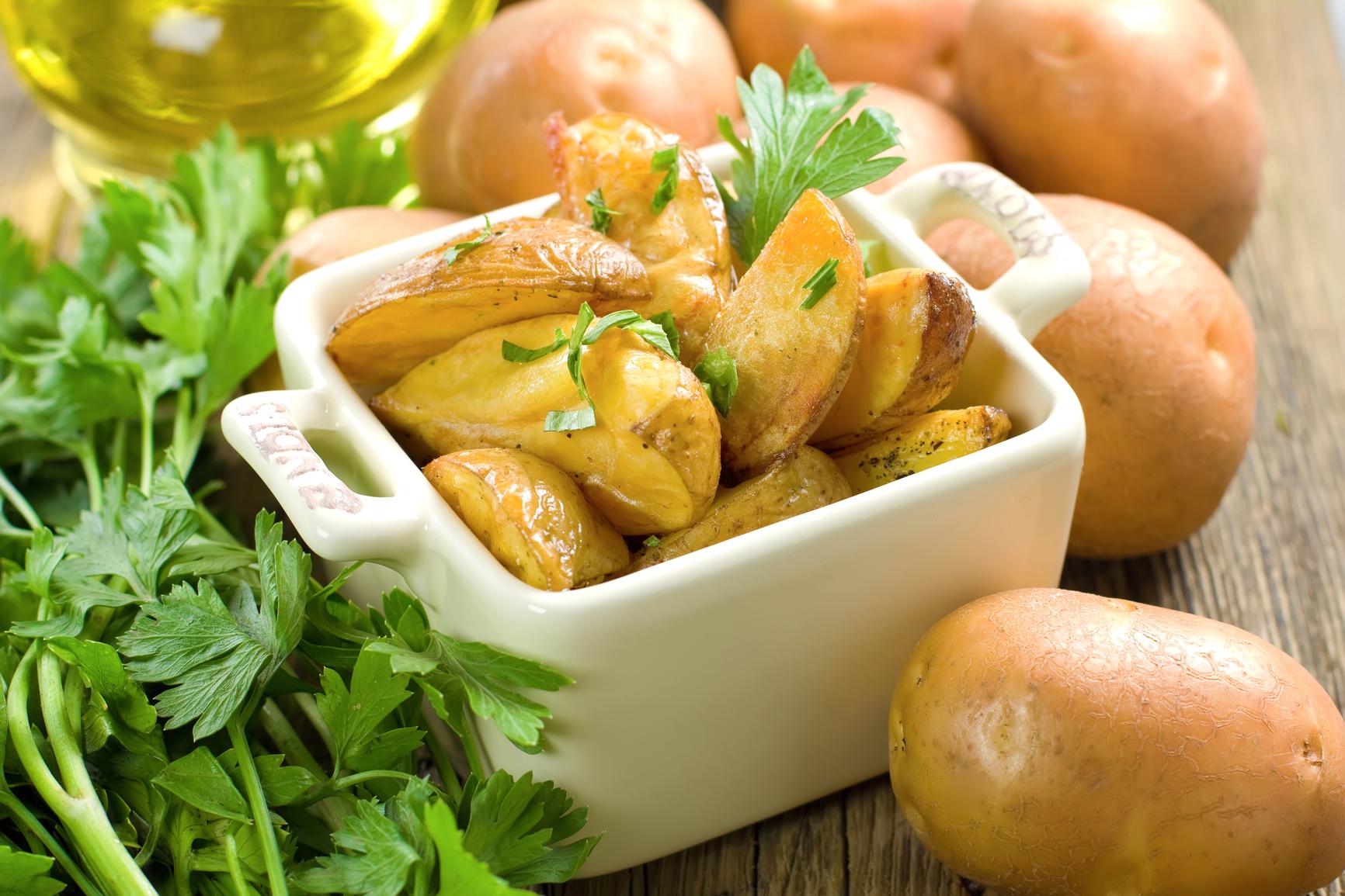 Картофель помогает похудеть