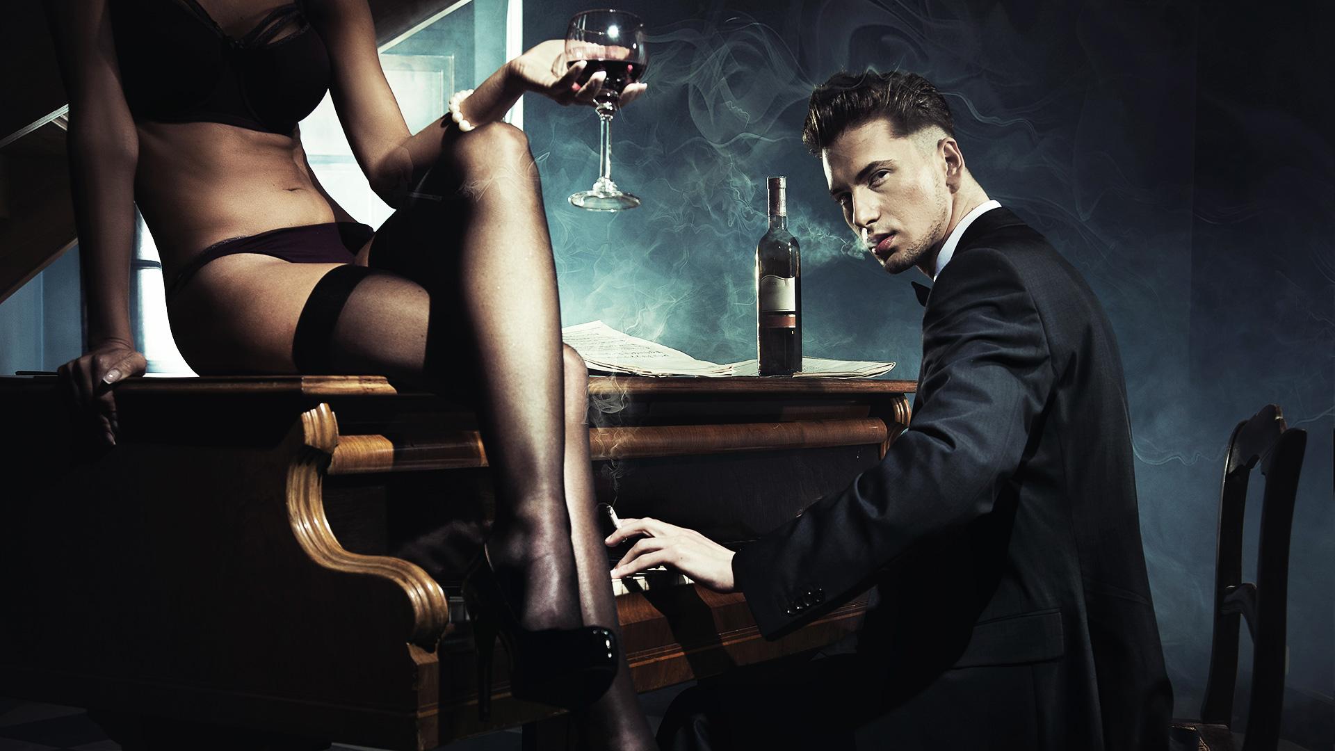 Видео девушки наслаждающейся сигаретой и сексом