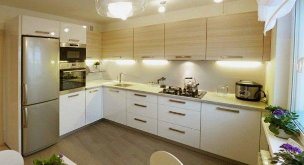 дизайн угловой кухни 9 м кв фото
