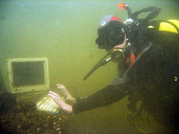 На дне озера в Твери (15 фотографий), photo:9. Фото 9, На дне озера в...