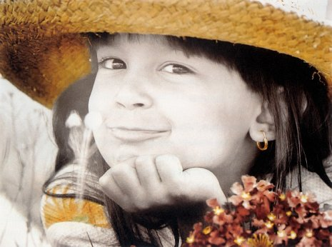 Фотографий детей в стиле ретро от Kim Anderson.