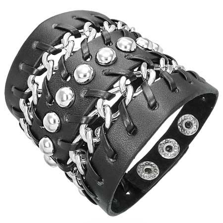 Мужские кожаные браслеты подчеркнут индивидуальность и мужской характер.
