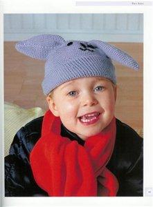 как связать шапку для новорожденного крючком - Выкройки одежды для детей...
