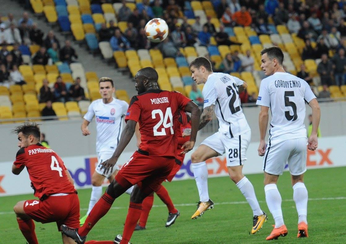 Заря будет играть матчи группового раунда ЛЕ в Одессе