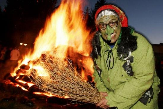 Вальпургиева ночь - праздник немецких ведьм - Разное - Приколы ...