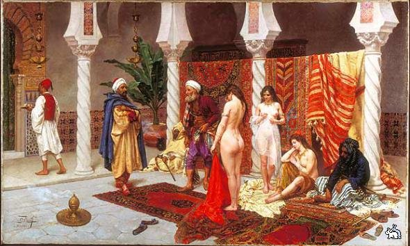 Жизнь наложниц и секс в гареме
