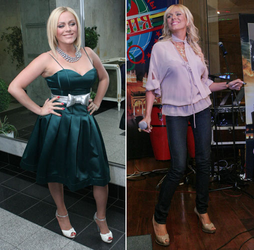 Звезда до и после диеты