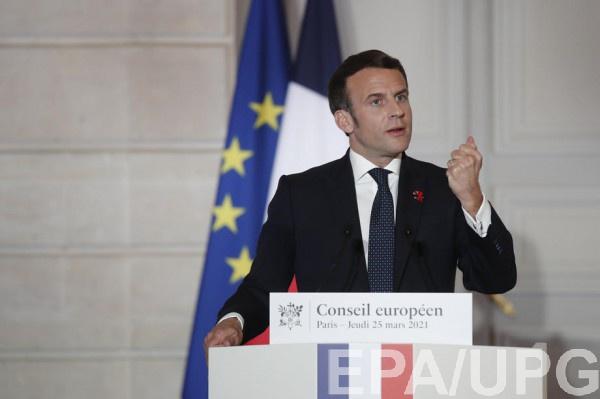 Макрон призвал ЕС и США к активизации, чтобы избежать войны в Украине