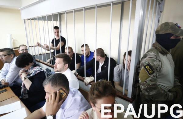 В Москве вот-вот начнется рассмотрение апелляции по украинским морякам