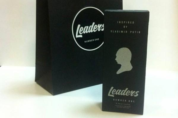На упаковке изобразили профиль главы Кремля
