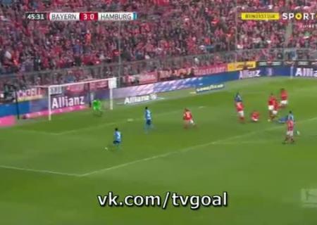 Футбол бавария гамбург видео